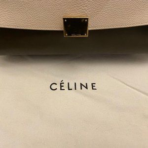 Pre-owned Celine Trapeze Medium Bag